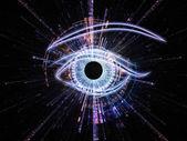 Eye of the machine — Stock Photo