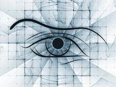 Fractal vision background — Stock Photo