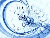 Time stream — Stock Photo