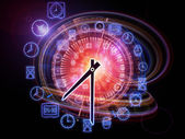 Dynamic of time — Stock Photo