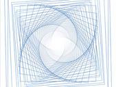 Vortice di geometria — Foto Stock