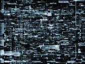 сеть абстракция — Стоковое фото