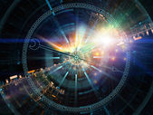 Lichter von den chronometer — Stockfoto