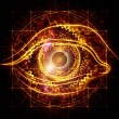 Eye of artificial intelligence — Stock Photo #11929300