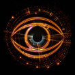 Eye of artificial intelligence — Stock Photo #11930403