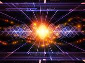 Energy propagation — Stock Photo