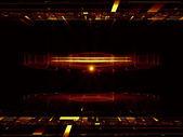 Energy signal — Stock Photo