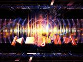 音声信号 — ストック写真