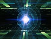 Fraktal energi — Stockfoto