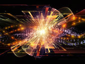 Energia fali sinusoidalnej — Zdjęcie stockowe