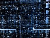 复杂的网络 — 图库照片