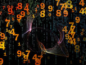 Way of Numbers — Stock Photo