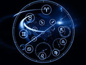 Dial de astrologia — Fotografia Stock