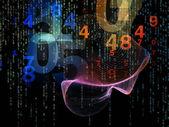 Manier van getallen — Stockfoto