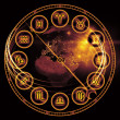 Astrology Dial - Foto Stock