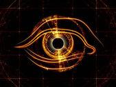 Fondo de visión fractal — Foto de Stock