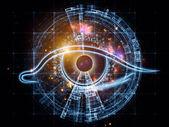 Fractal vision — Stock Photo