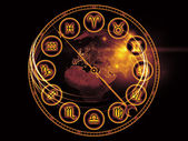 Astrology Dial — Stock Photo