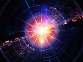 Lights of technology — Stock Photo