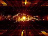 геометрия технологии — Стоковое фото