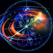 Foto Stock: Astrology Dial
