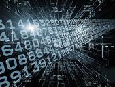 Computing Propagation — Stock Photo