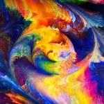 Conceptual Fractal Paint — Stock Photo #12412299