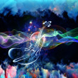 Waves of Music — Stock Photo