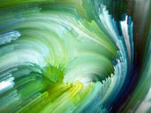Konceptuella fraktal färg — Stockfoto