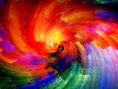 Digitální barvy pozadí — Stock fotografie