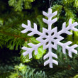 Stock Photo: Snow flake shape Christmas ornament