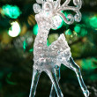 Decorative Chrystal moose shape — Stock Photo