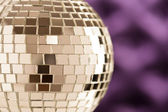 Disco Mirror sphere — Stock Photo