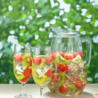 Kiwi Melon white Sangria — Stock Photo #12388945