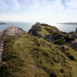 Stock Photo: Sunny rocky kerry headland view
