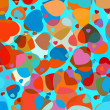 Beautiful colorful heart shape background. EPS 8 — Stockvektor