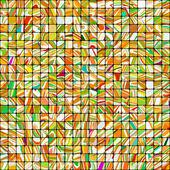 Vícebarevná mozaika pozadí. eps 8 — Stock vektor