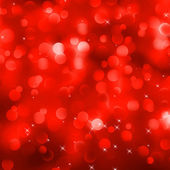 Glittery red Christmas background. EPS 8 — Stock Vector