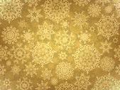 Gyllene elegant jul mall. eps 8 — Stockvektor