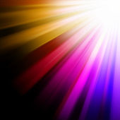 Raggi luminosi blu, rosa, arancioni. eps 8 — Vettoriale Stock
