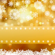 Elegant gold christmas background. EPS 8 — Vettoriali Stock