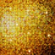 Gold mosaic background. EPS 8 - Stock Vector