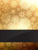 Gold elegant christmas background. EPS 8 — Stock Vector