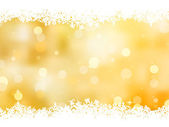 Gold christmas background with copy space. EPS 8 — Stock Vector
