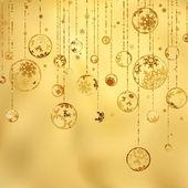 复古圣诞快乐和新年快乐。8 eps — 图库矢量图片
