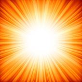 抽象的辐射星级。8 eps — 图库矢量图片