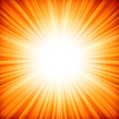 Abstrait étoile rayonnante. eps 8 — Vecteur