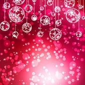 Noël élégant avec beaux flocons de neige. eps 8 — Vecteur