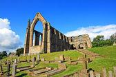 Abadia de bolton, em north yorkshire, inglaterra — Foto Stock
