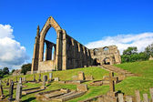 在英格兰北部约克郡博尔顿修道院 — 图库照片